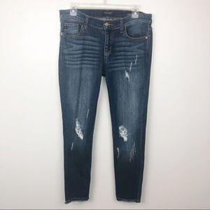 Judy Blue Skinny Fit Distressed Jeans